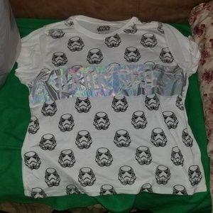 Tops - Holo Dark Side Shirt
